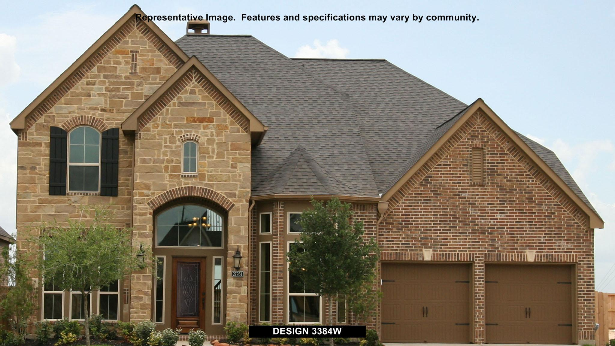 3384W - Firethorne: Firethorne 60': Katy, TX - Perry Homes