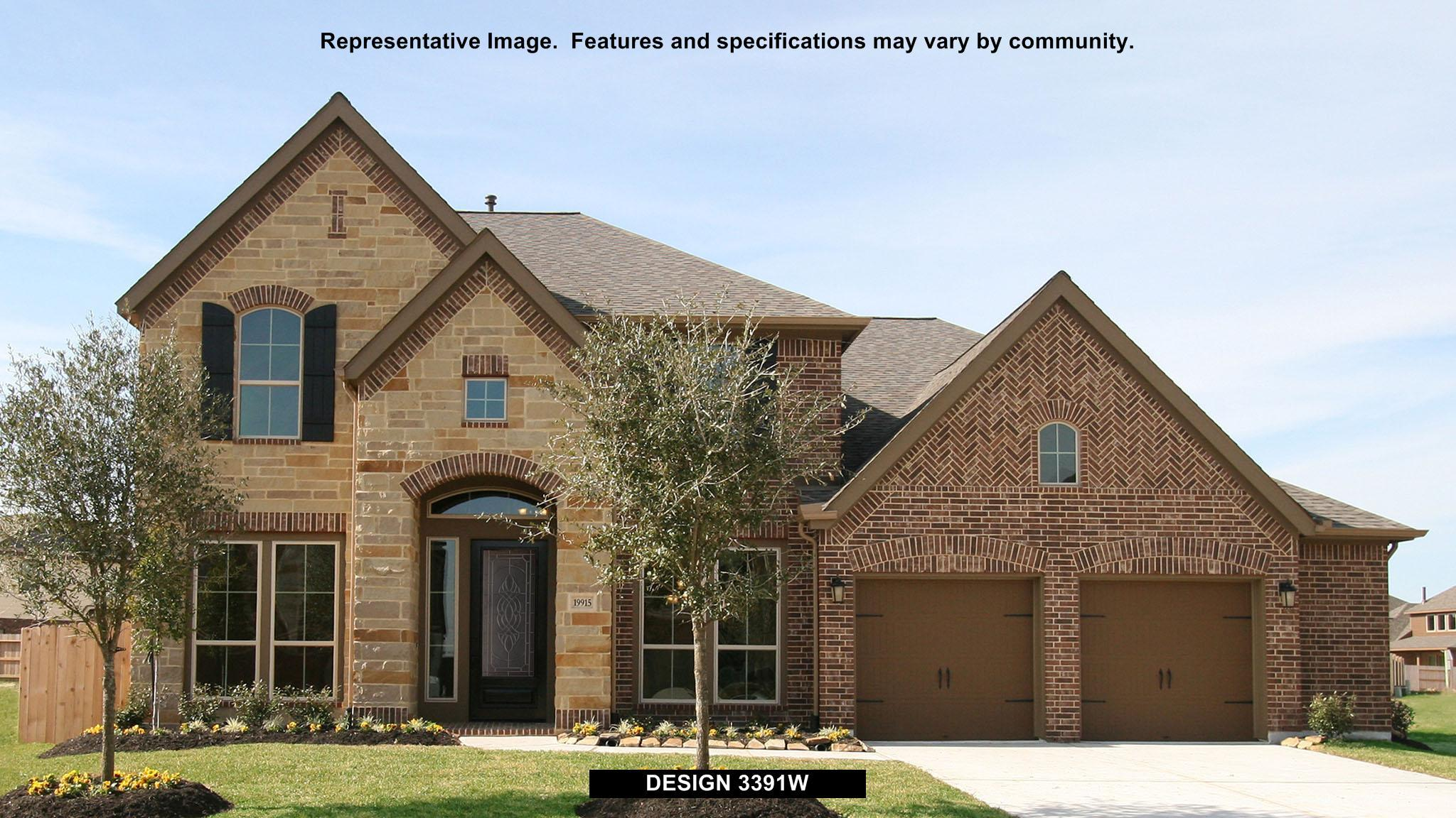 3391W - Cypress Creek Lakes 60': Cypress, TX - Perry Homes