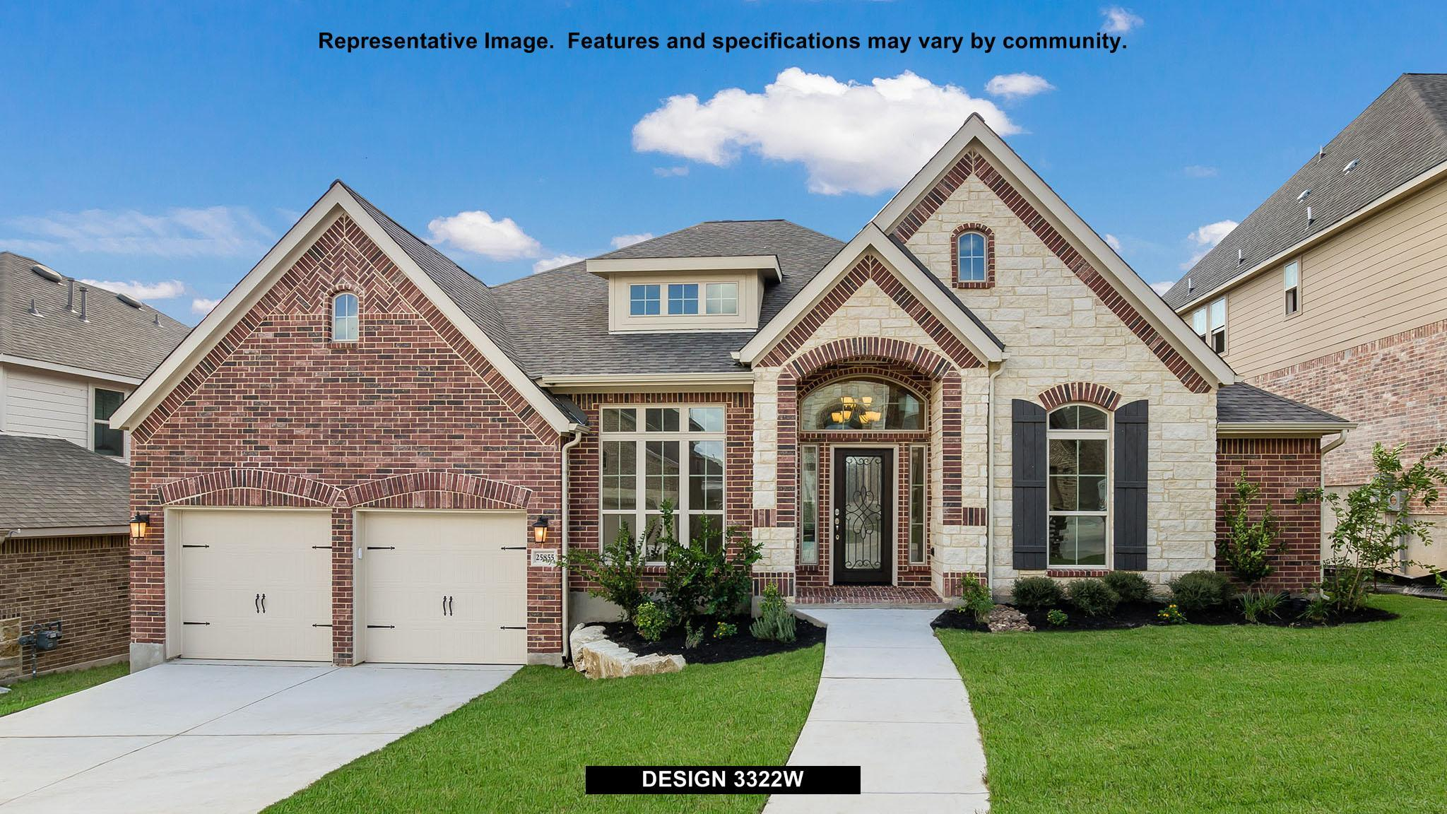 3322W - Cinco Ranch 65': Katy, TX - Perry Homes