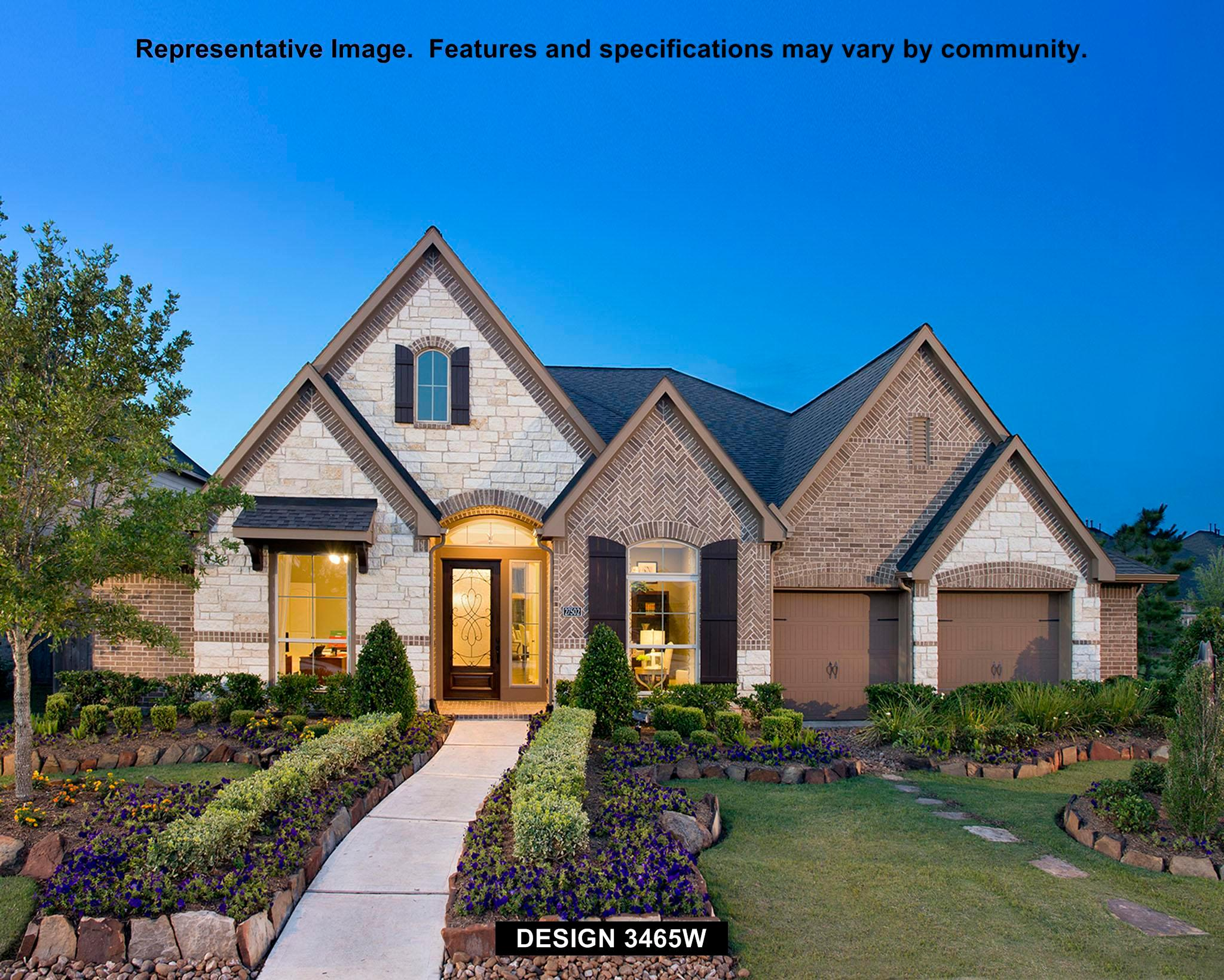 3465W - Cinco Ranch Northwest 65': Katy, TX - Perry Homes