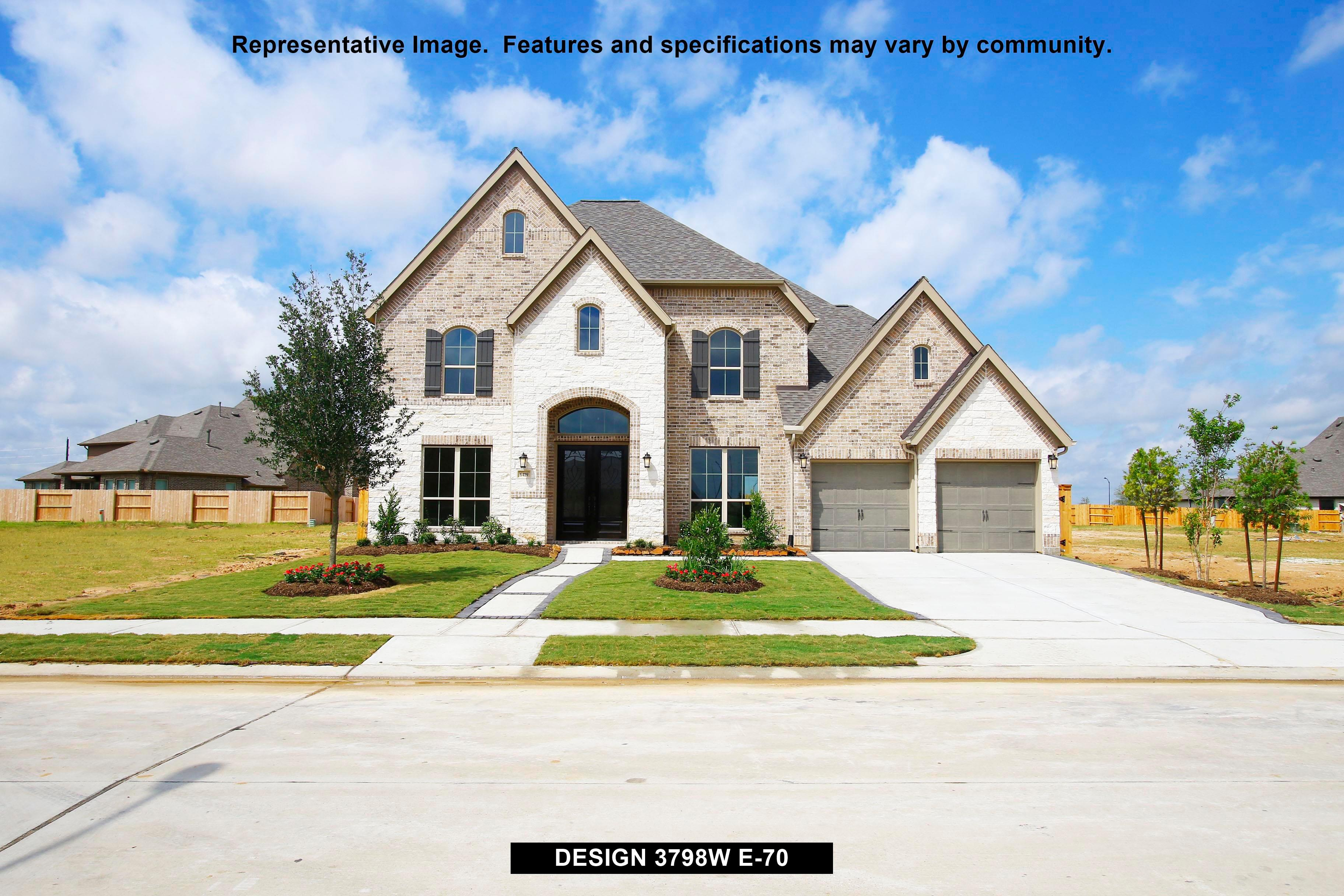 3798W - Southern Trails 70': Pearland, TX - Perry Homes