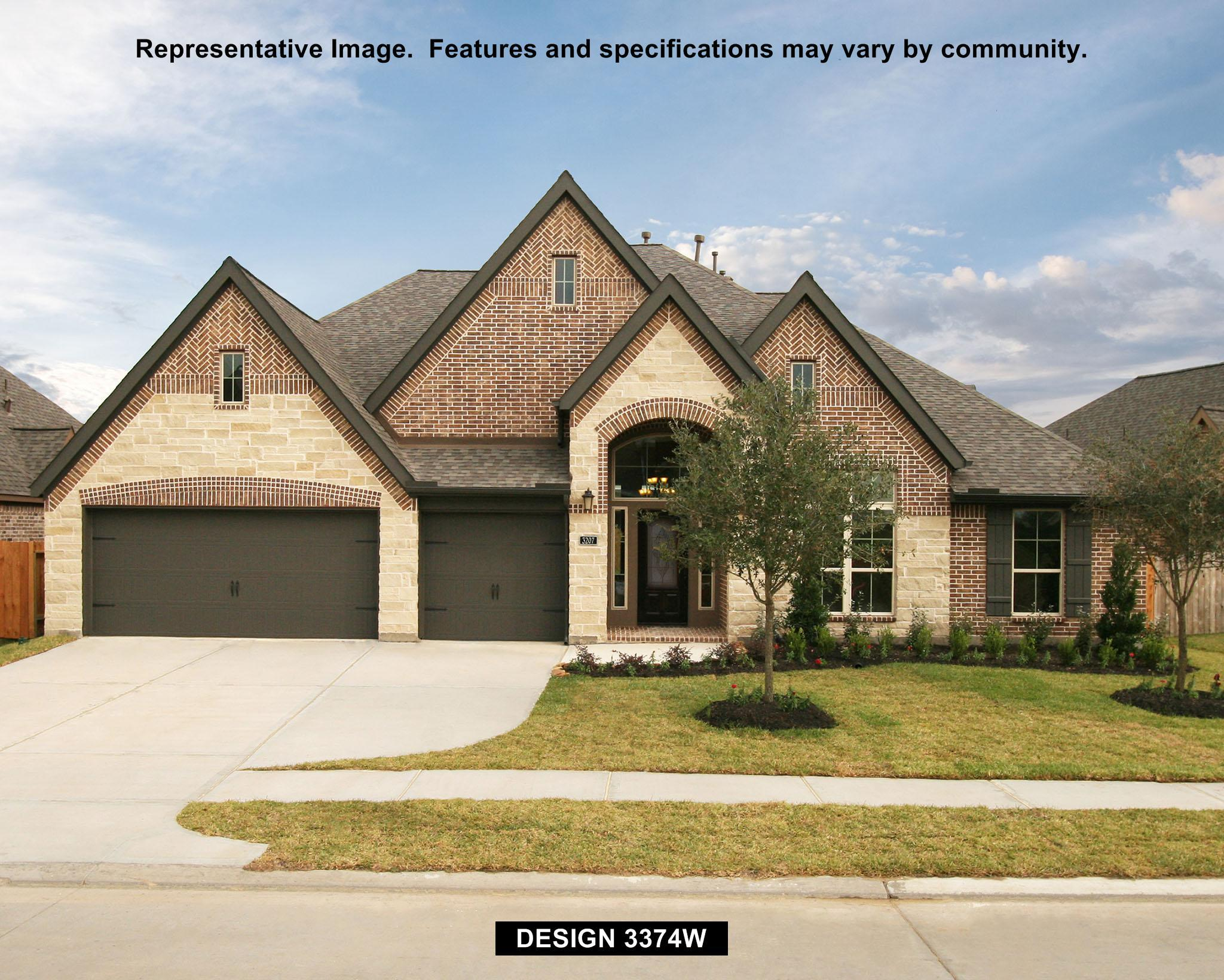 3374W - The Preserve Of Mission Valley: New Braunfels, TX - Perry Homes