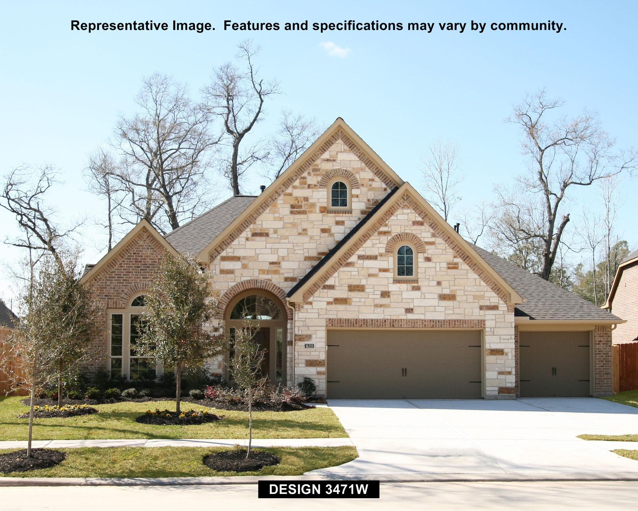 3471W - Oak Run In New Braunfels: New Braunfels, TX - Perry Homes