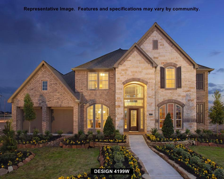 4199W - Shadow Creek Ranch - Azalea Creek 70' and Autumn Brook 70': Pearland, TX - Perry Homes