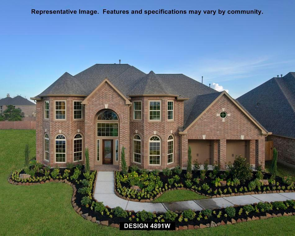 4891W - Shadow Creek Ranch - Azalea Creek 70': Pearland, TX - Perry Homes