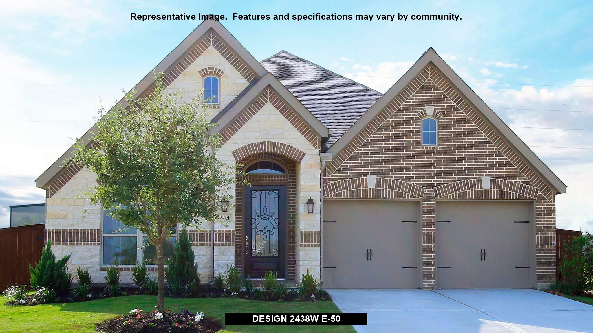 2438W - Creekmont 50': Fresno, TX - Perry Homes