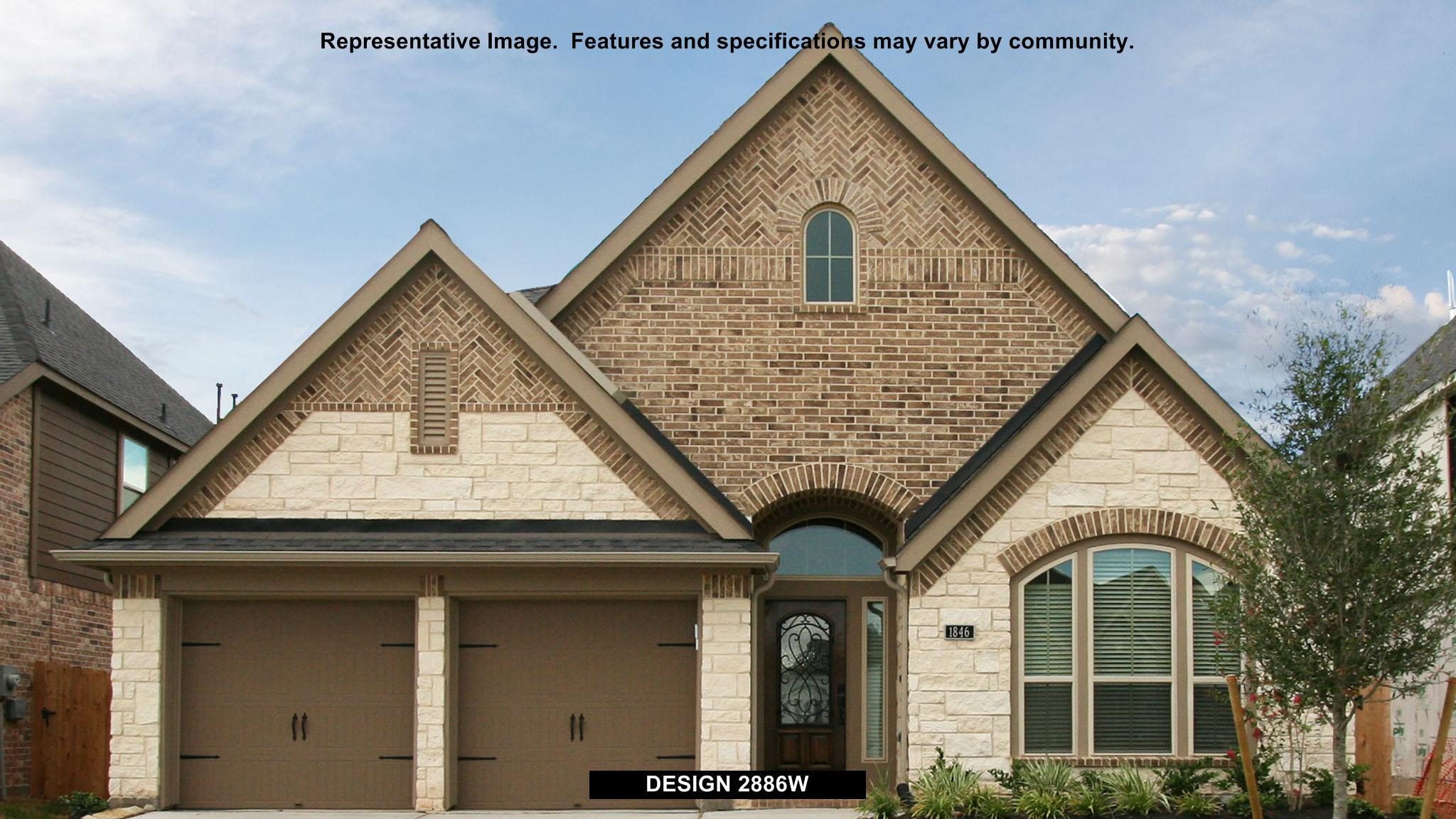 2886W - Woodforest 50': Montgomery, TX - Perry Homes