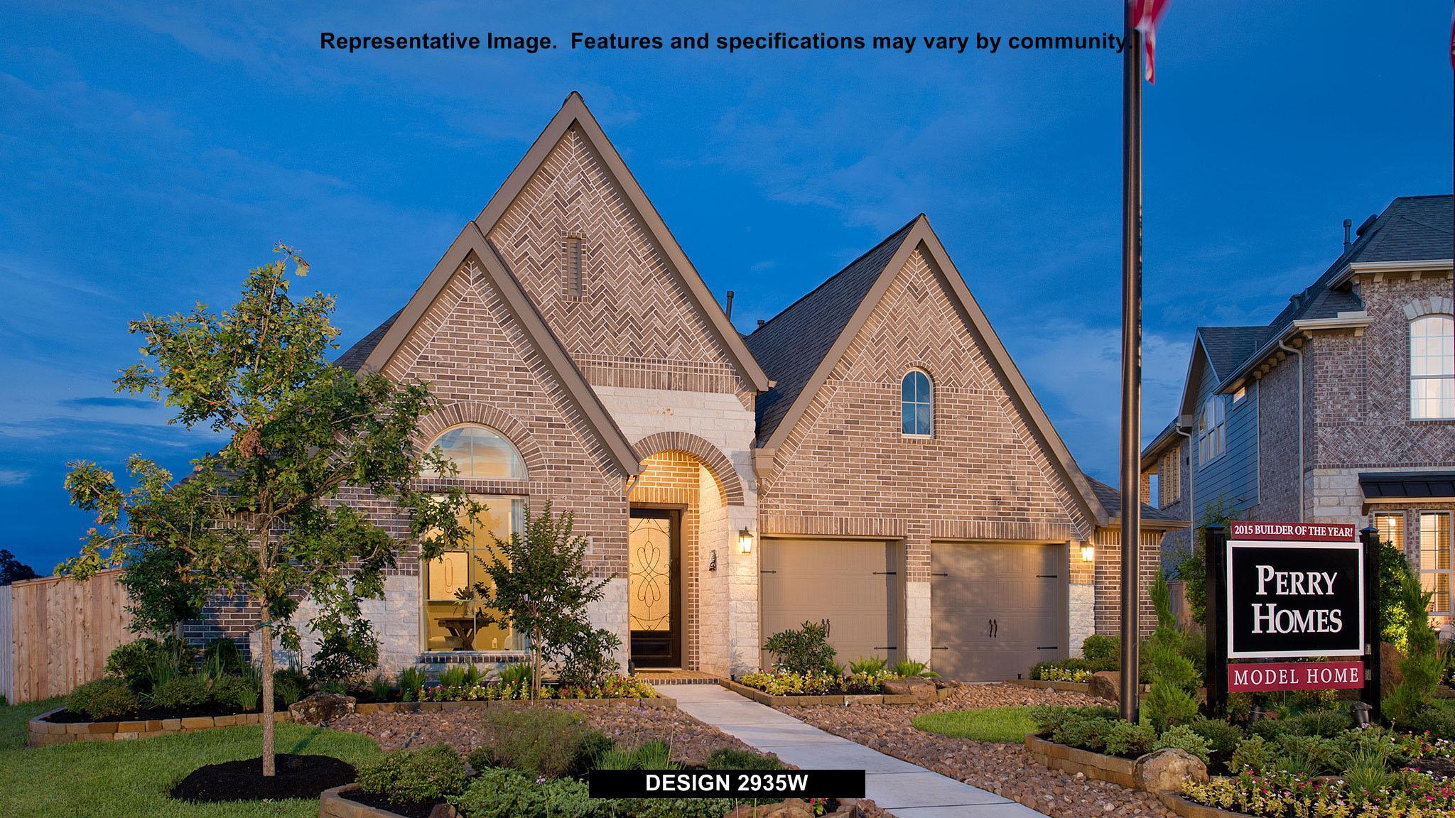 2935W - Pine Mill Ranch 55': Katy, TX - Perry Homes