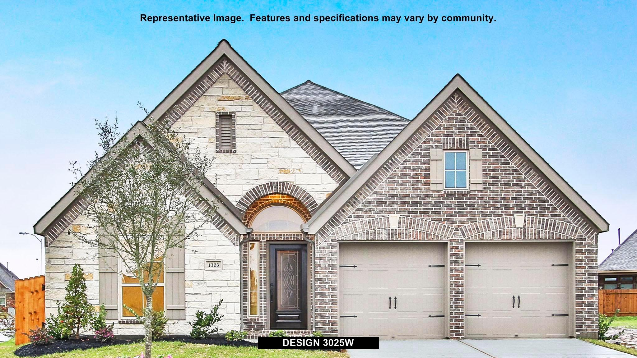 3025W - Woodforest 50': Montgomery, TX - Perry Homes