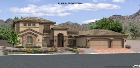 Sable Creek by Pinnacle Homes in Las Vegas Nevada