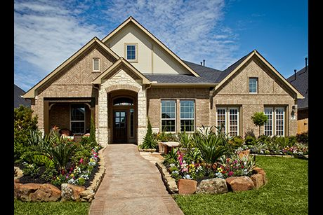 Firethorne west 60 39 in katy tx new homes floor plans for Firethorne builders