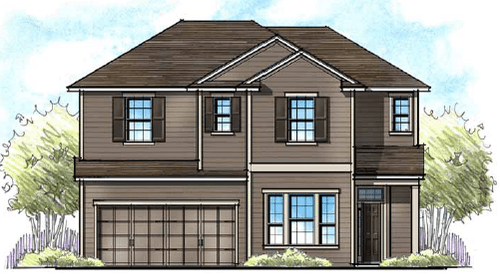 Crosswater at Pablo Bay by Providence Homes INC in Jacksonville-St. Augustine Florida