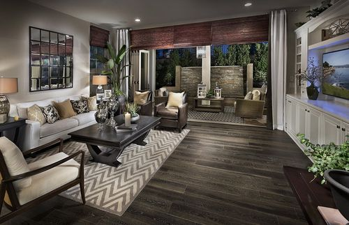 Hawthorn at Pavilion Park by Pulte Homes in Los Angeles California