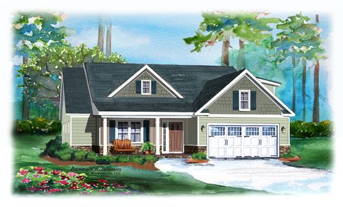 Magnolia Greens by Pyramid Homes, Inc. in Wilmington North Carolina