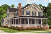 The Fenwick - Leonard's Grant: Leonardtown, MD - Quality Built Homes, Inc.