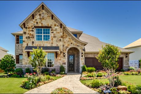 Garden heights in mansfield tx new homes floor plans for New home source dfw
