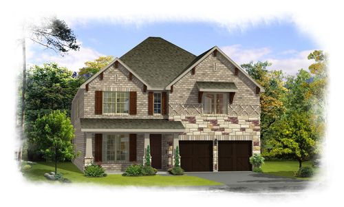 house for sale in Oak Point Estates by Rendition Homes