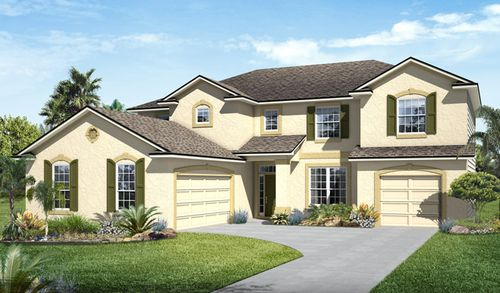 house for sale in Eagle Landing at Oakleaf Plantation by Richmond American Homes