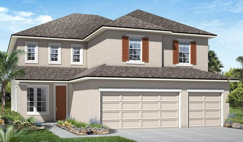 Dunn's Crossing by Richmond American Homes in Jacksonville-St. Augustine Florida