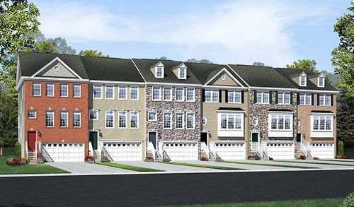 Tanyard Cove Townes by Richmond American Homes in Baltimore Maryland