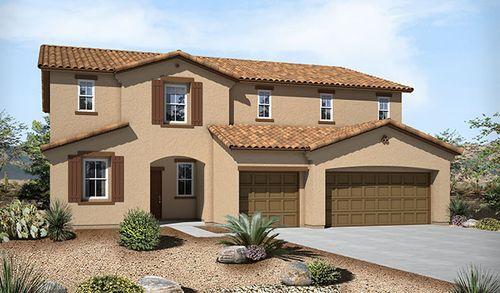 Bronco Estates by Richmond American Homes in Las Vegas Nevada