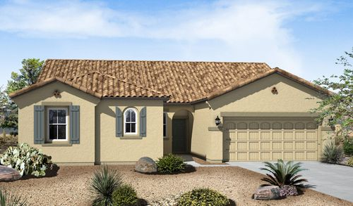 Sutter Ranch at Mountain's Edge by Richmond American Homes in Las Vegas Nevada
