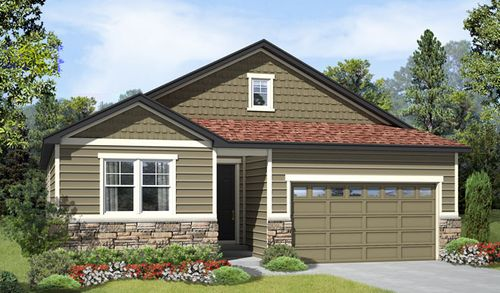 house for sale in Cherry Neighborhood at Copperleaf by Richmond American Homes