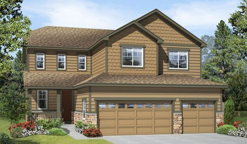 Ponderosa Neighborhood at Copperleaf by Richmond American Homes in Denver Colorado