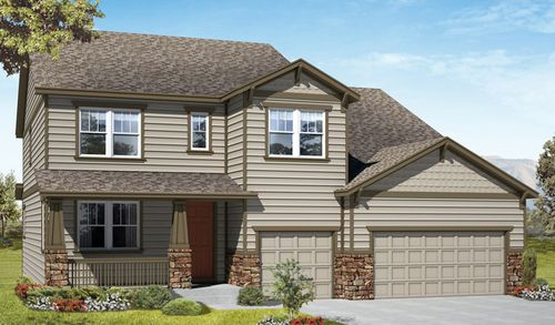 HorseShoe Ridge by Richmond American Homes in Denver Colorado
