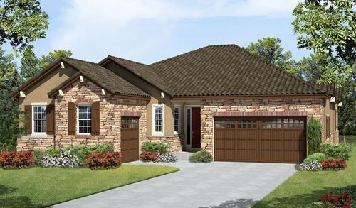 house for sale in Lunata at Castle Pines by Richmond American Homes