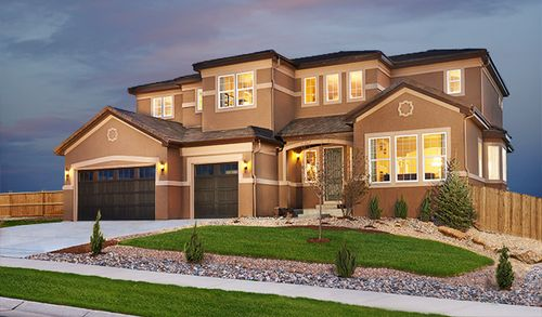 The Estates at Blackstone Country Club by Richmond American Homes in Denver Colorado