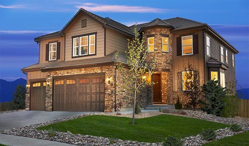 The Villas at Blackstone Country Club by Richmond American Homes in Denver Colorado