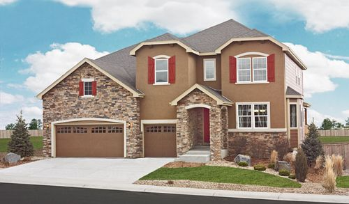 Sweetwood in The Meadows by Richmond American Homes in Denver Colorado