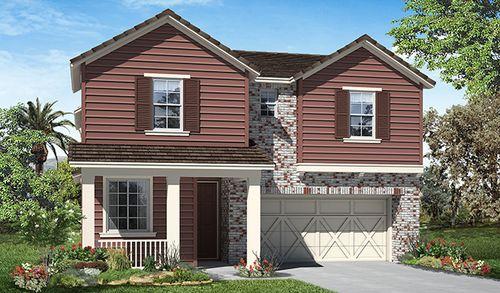 Spring Hill Estates at Mountain House by Richmond American Homes in Stockton-Lodi California
