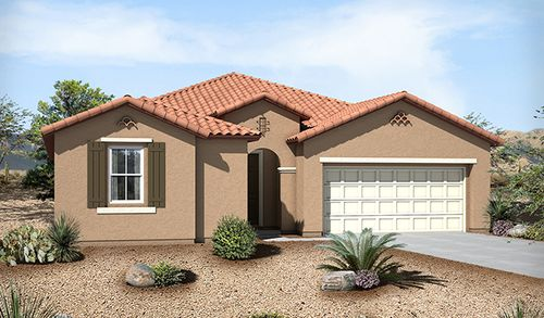 Palisades at San Lucas North by Richmond American Homes in Tucson Arizona