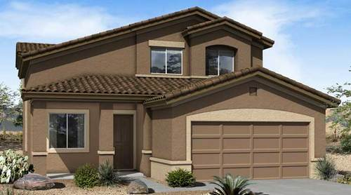 Palisades at San Lucas by Richmond American Homes in Tucson Arizona