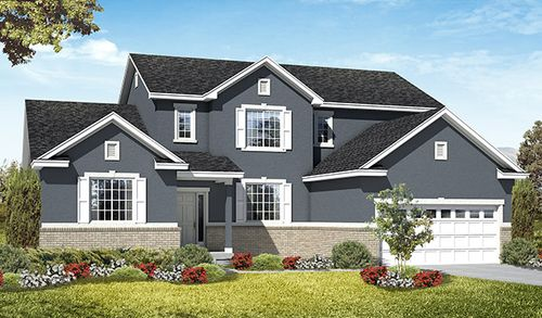 Colonial Park by Richmond American Homes in Provo-Orem Utah