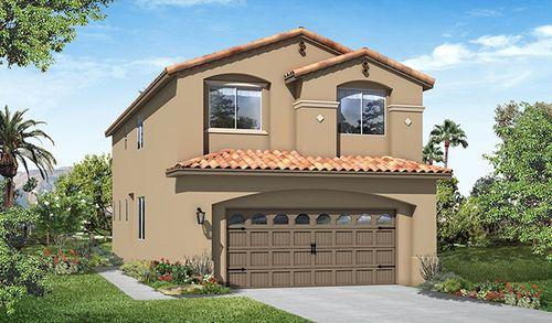 Branford Village by Richmond American Homes in Los Angeles California