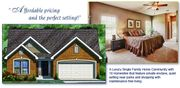 homes in Park Side Estates by Rolwes Company