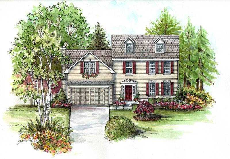 Woodbine Select - The Links at Raven's Claw: Pottstown, PA - Rouse Chamberlin Homes