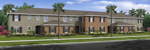 Emerald Lake Townhomes by Royal Oak Homes in Lakeland-Winter Haven Florida
