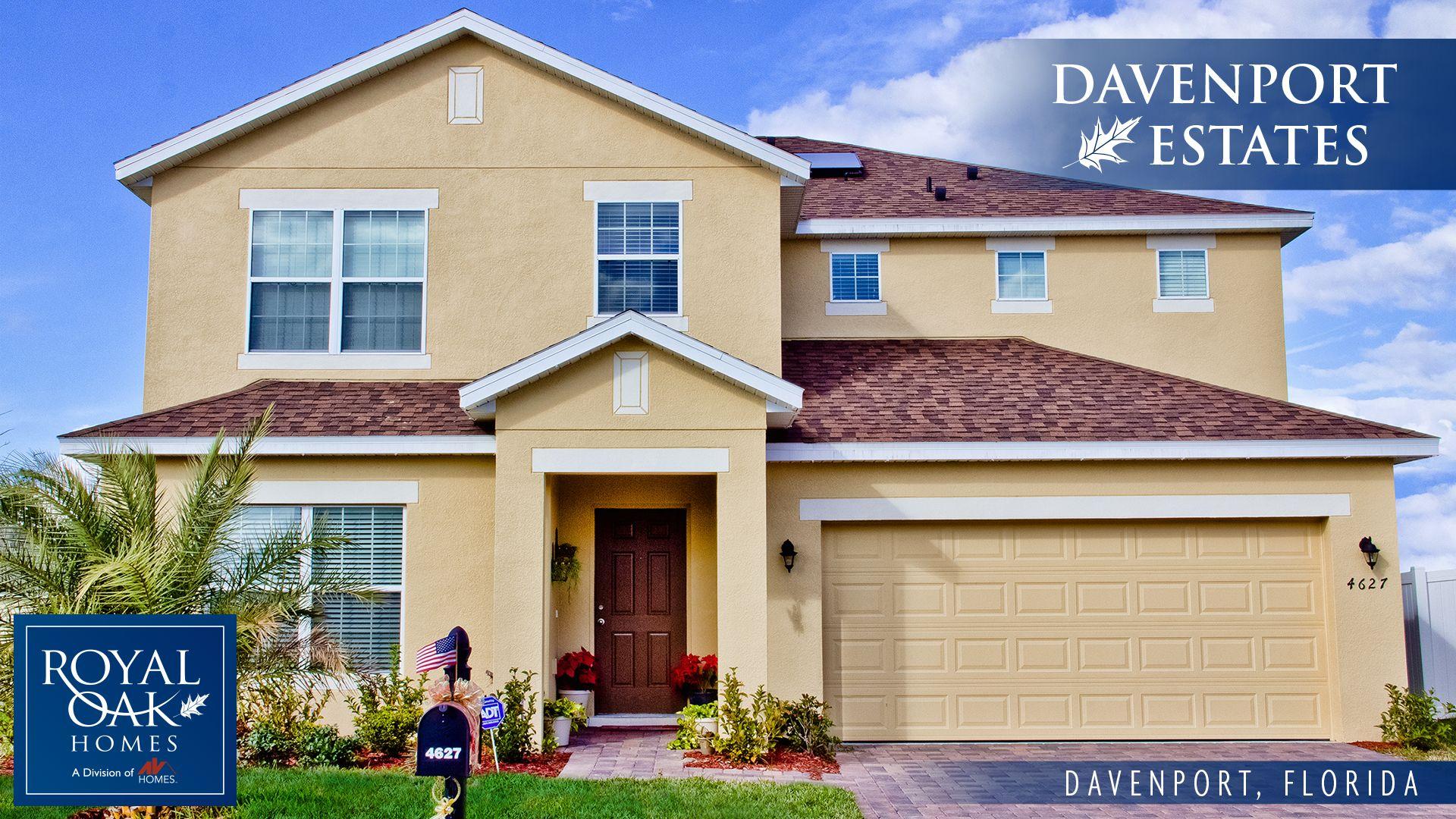 Davenport Estates New Homes In Davenport Fl By Royal Oak