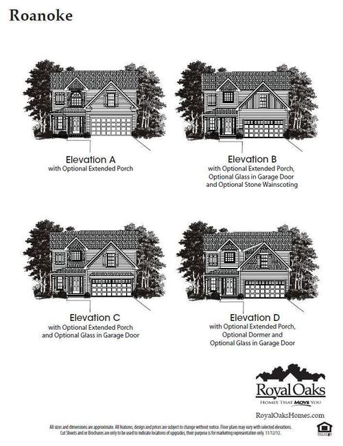 The Village Of Lexington Plantation by Royal Oaks Homes in Raleigh-Durham-Chapel Hill North Carolina