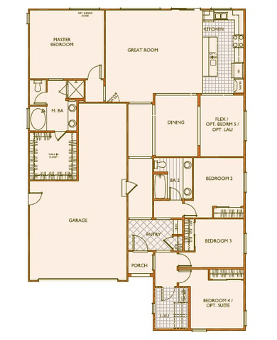 Plan Three - 1st Floor