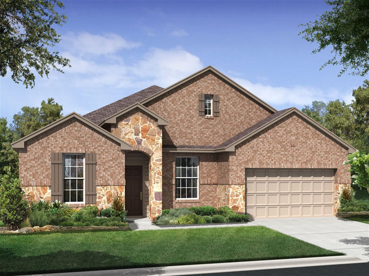Hamilton - Caldwell Cove at Teravista: Round Rock, TX - Ryland Homes