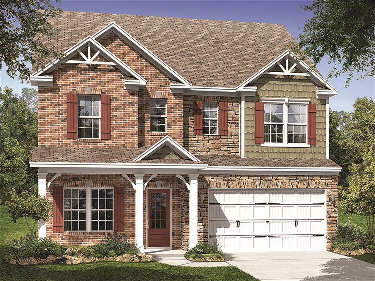 Ingleton - Ravenscroft: Mint Hill, NC - Ryland Homes
