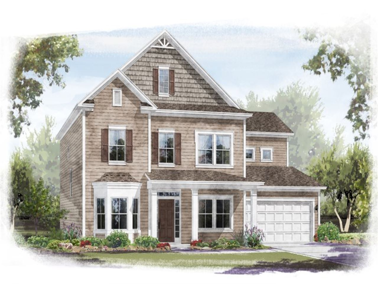 Hastings - Rusty Creek at Palisades: Charlotte, NC - Ryland Homes