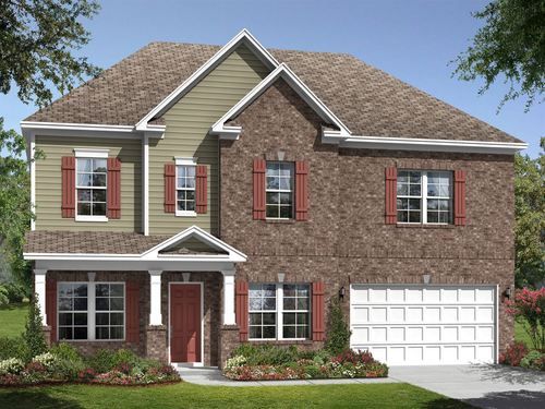 house for sale in Green Meadows by Ryland Homes