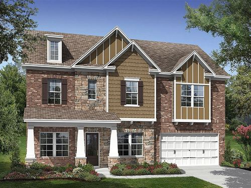 Mill Creek Falls Estate Series by Ryland Homes in Charlotte North Carolina