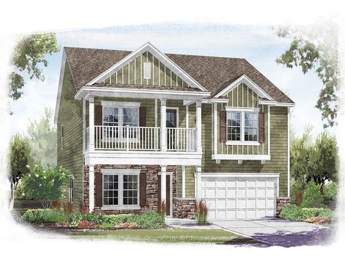 Mill Creek Falls Premier Series by Ryland Homes in Charlotte North Carolina